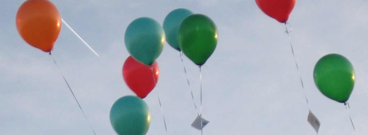 Message-Carrying Balloons