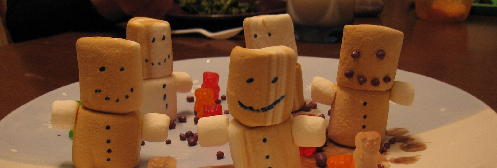 Marshmallow Figures