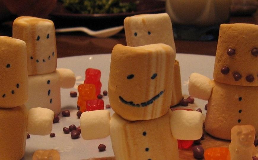 Marshmallow Figures
