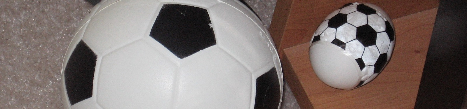Soccer Ball and Decorated Egg