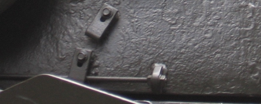Detail of Side of Retired Tank