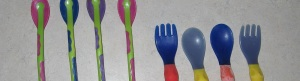 Assortment of Baby Utensils