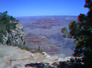 Anaglyph of Grand Canyon Photo