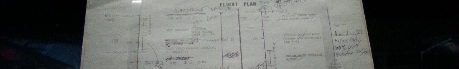 Space Flight Plan