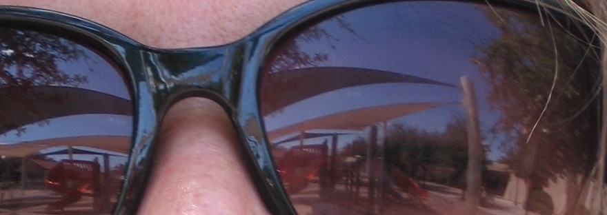 Reflection in Sunglasses